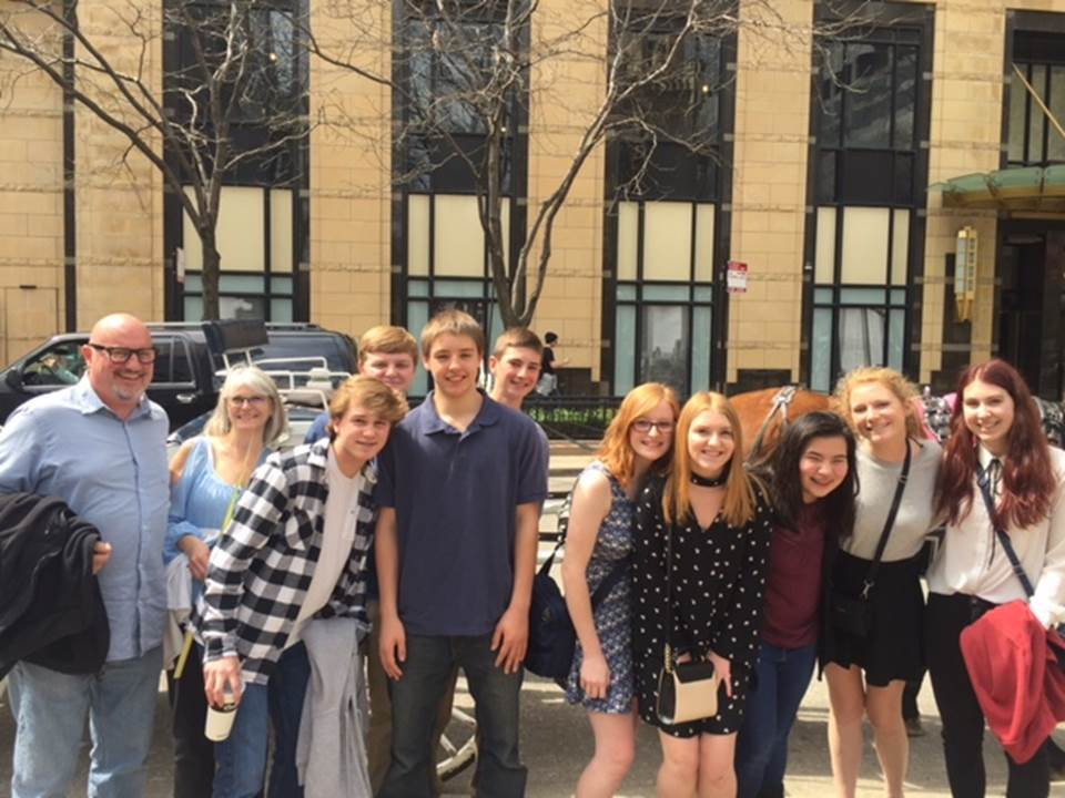 Confirmation and HS Field Trip to Fourth Presbyterian